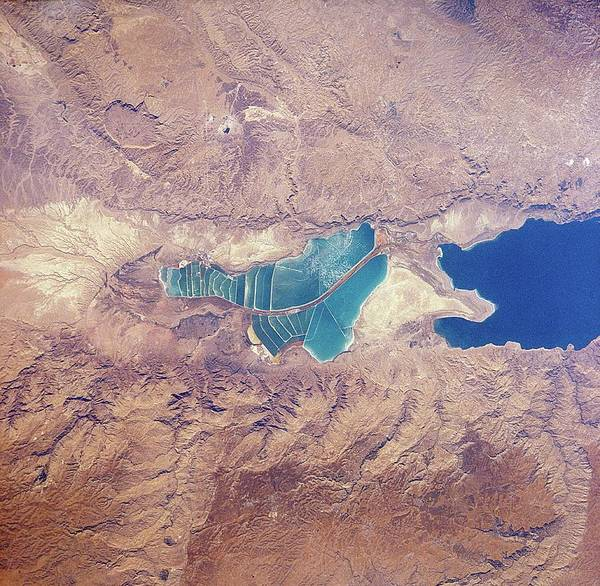 Wall Art - Photograph - Dead Sea by Nasa/science Photo Library