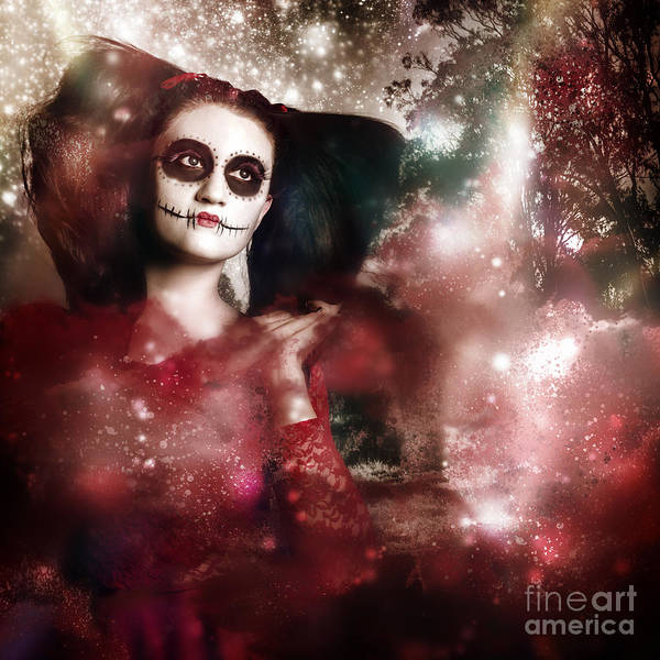 Black Magic Woman Wall Art - Photograph - Death And Creation by Jorgo Photography - Wall Art Gallery