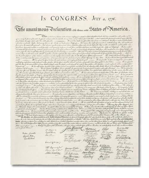 Declaration Of Independence Digital Art - Declaration Of Independence by Ron Hedges