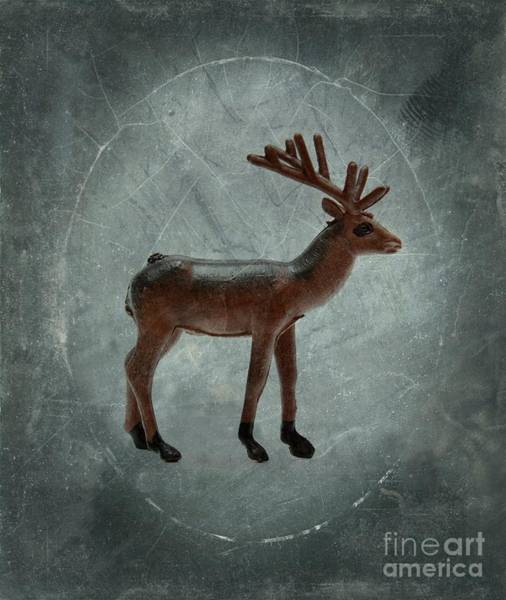 Wall Art - Photograph - Deer Figurine by Bernard Jaubert