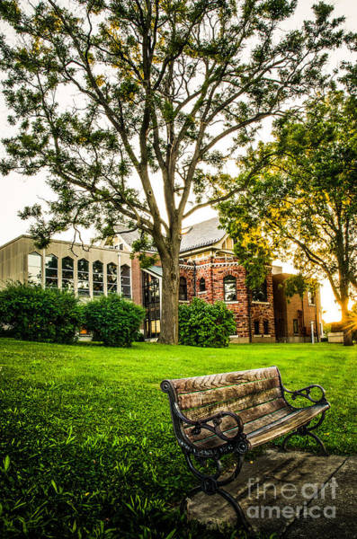 Photograph - Defiance Public Library 1 by Michael Arend