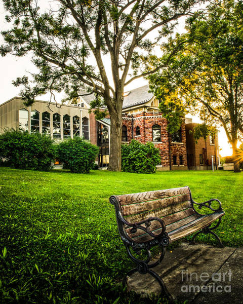 Photograph - Defiance Public Library 2 by Michael Arend