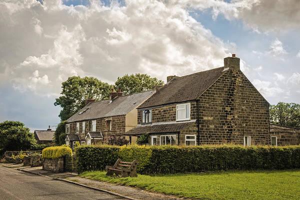 English Cottage Photograph - Derbyshire Cottages by Amanda Elwell