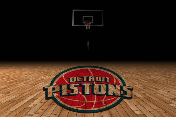 Ncaa Wall Art - Photograph - Detroit Pistons by Joe Hamilton