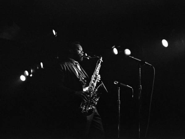 Photograph - Dewey Redman by Lee Santa