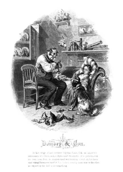 Alonzo Drawing - Dickens Dombey And Son by Granger