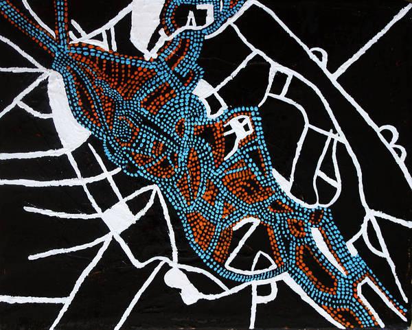 Painting - Dinka Totem - South Sudan by Gloria Ssali