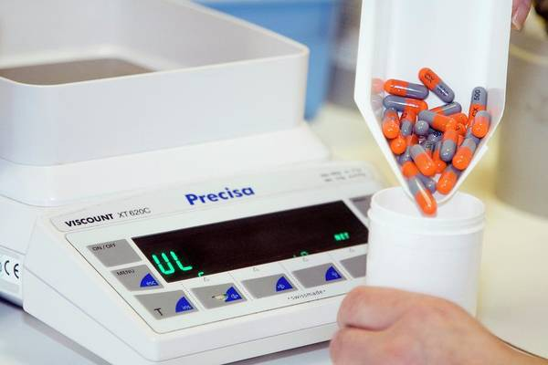 Branding Photograph - Dispensing Medications by Life In View/science Photo Library