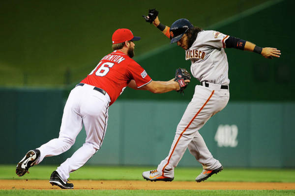 Photograph - Division Series - San Francisco Giants by Al Bello
