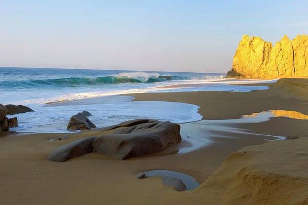 Lucas Photograph - Divorce Beach, Cabo San Lucas, Baja by Douglas Peebles