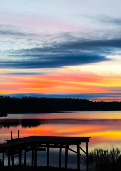 Photograph - Dock Sunset by Parker Cunningham