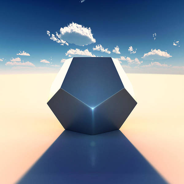 Southwest Wall Art - Digital Art - Dodecahedron by Marc Orphanos