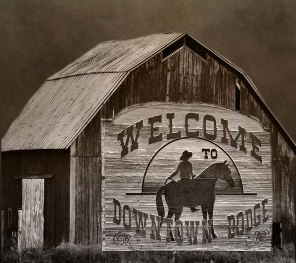 Gunfight Wall Art - Photograph - Dodge City by Dan Sproul