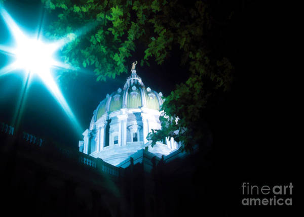 Photograph - Dome At Night by Geoff Crego