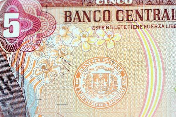 Dominican Republic Photograph - Dominican Republic Banknote by Louise Murray/science Photo Library