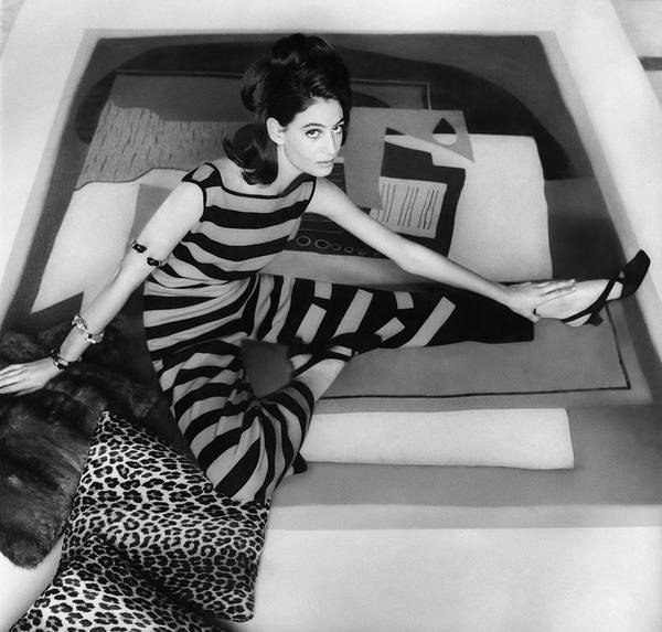 Modernist Photograph - Donna Allegra Caracciolo Di Castagneto Wearing by Henry Clarke