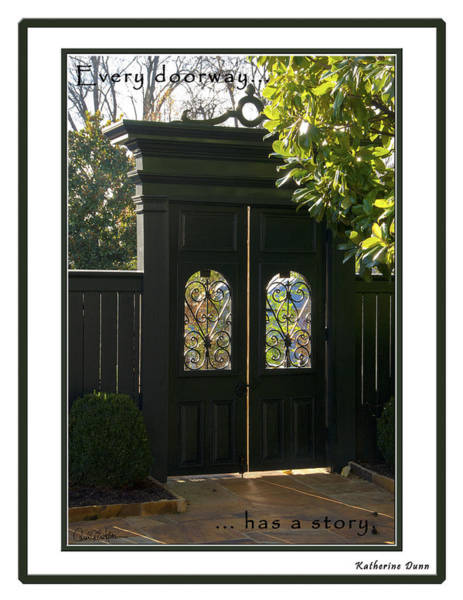 Photograph - Doorway by Carol Erikson
