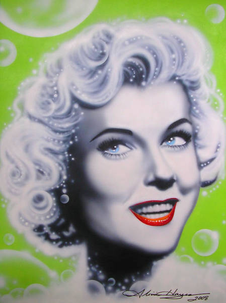 Leading Actress Wall Art - Painting - Doris Day by Alicia Hayes