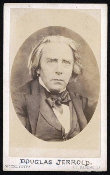 William And Mary Photograph - Douglas William Jerrold  English by Mary Evans Picture Library