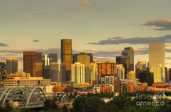 Photograph - Downtown Denver  by Anthony Wilkening