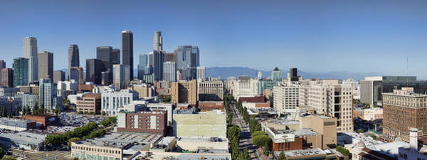 Photograph - Downtown Los Angeles by Kelley King