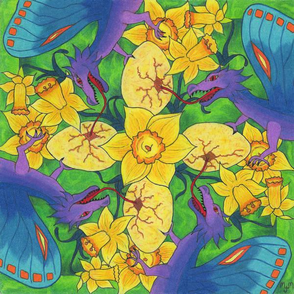 Dragondala Spring Art Print