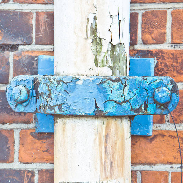 Gutter Photograph - Drain Pipe by Tom Gowanlock