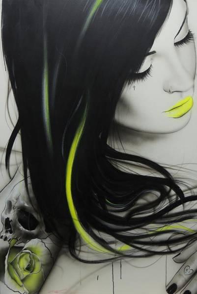 Skull Face Painting - Dream by Christian Chapman Art