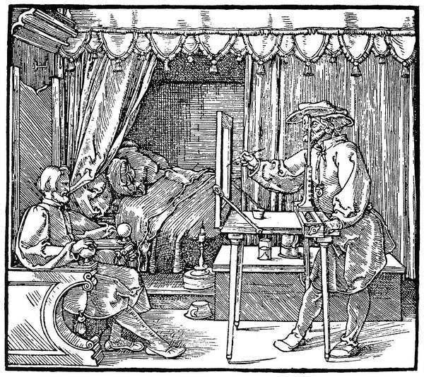 Drawers Painting - Durer Measurement by Granger