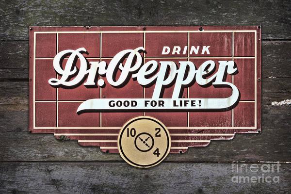 Photograph - Drink Dr Pepper by Ken Johnson