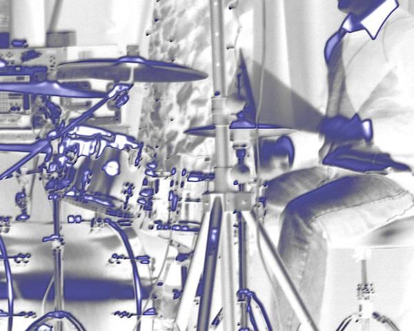 Photograph - Drummer 24837 by Jerry Sodorff