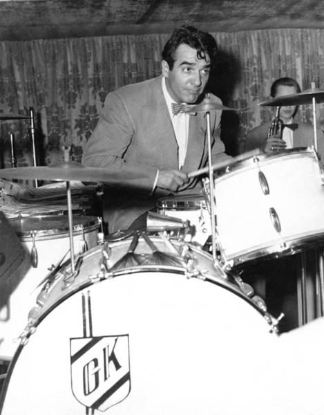 Composer Photograph - Drummer Gene Krupa by Underwood Archives