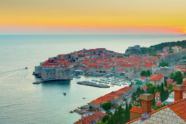 Wall Art - Photograph - Dubrovnik, Old Town by Alan Copson