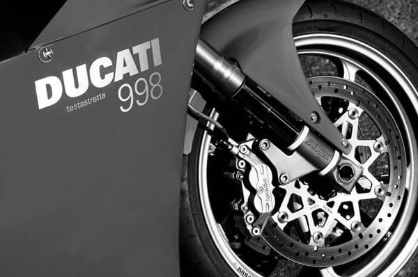 Ducati Bike Photograph - Ducati Testastretta 998 by Jill Reger
