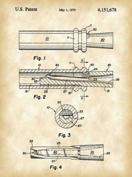 Wall Art - Digital Art - Duck Call Patent 1979 - Vintage by Stephen Younts