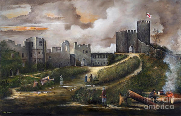 Painting - Dudley Castle 2 by Ken Wood