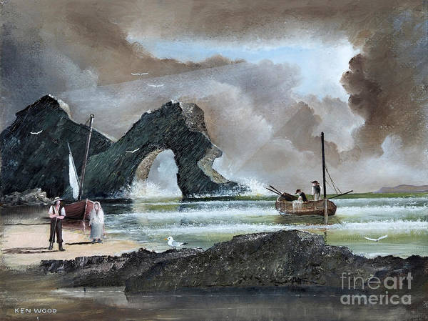 Durdle Door - Dorset Art Print