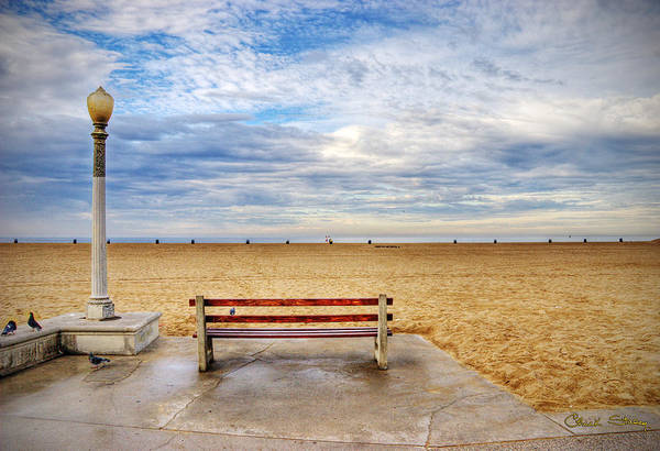 Photograph - Early Morning At The Beach by Chuck Staley