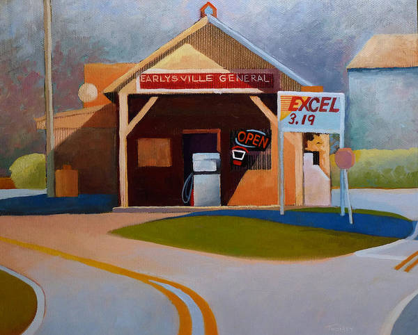 Wall Art - Painting - Earlysville General Store No. 2 by Catherine Twomey
