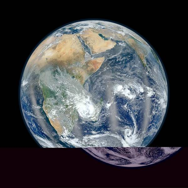 Suomi Photograph - Earth, Satellite Image by Science Photo Library