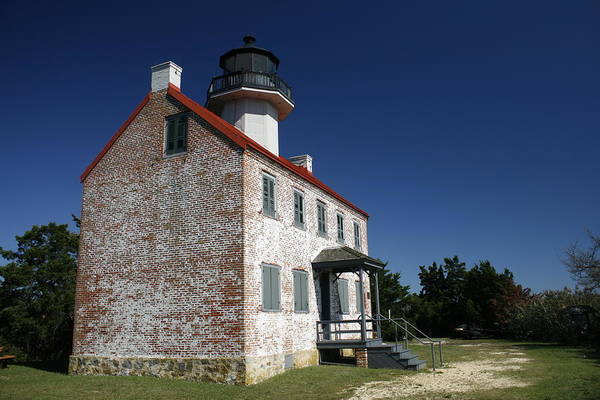 Photograph - East Point Lighthouse by Kristia Adams