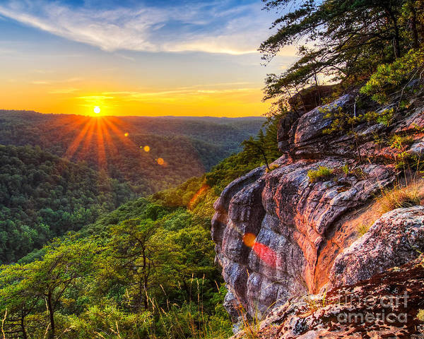 Wall Art - Photograph - East Rim Sunset by Anthony Heflin