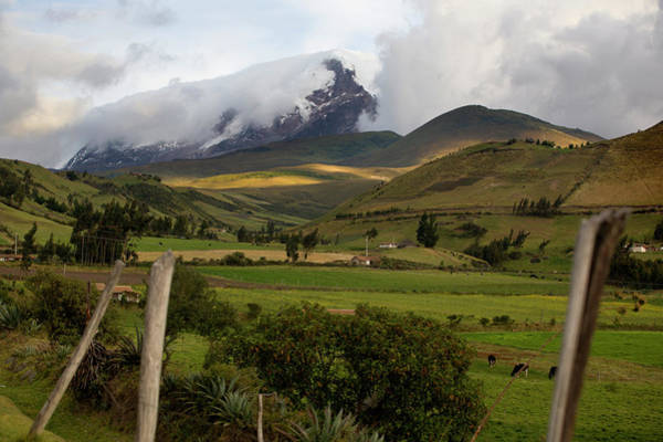 Wall Art - Photograph - Ecuadors Third Largest Volcano, Cayambe by Ivan Kashinsky