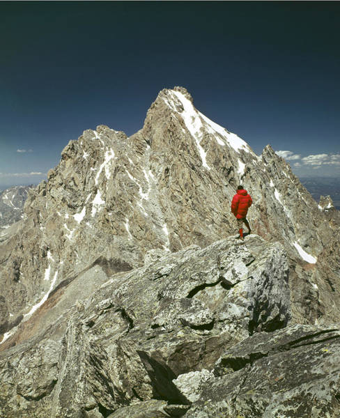 Photograph - 409222-av-ed On Top Of Middle Teton by Ed  Cooper Photography