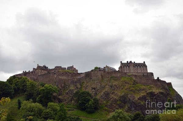 Photograph - Edinburgh Castle by Scott D Welch
