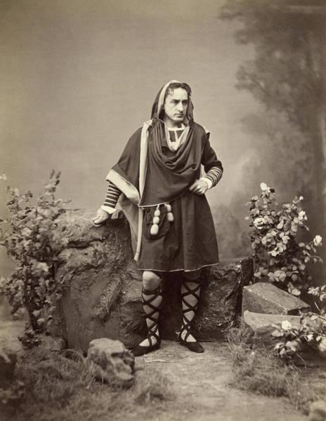 Wall Art - Photograph - Edwin Booth (1833-1893) by Granger
