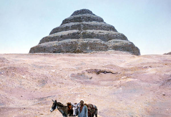 Wall Art - Photograph - Egypt Step Pyramid by Granger