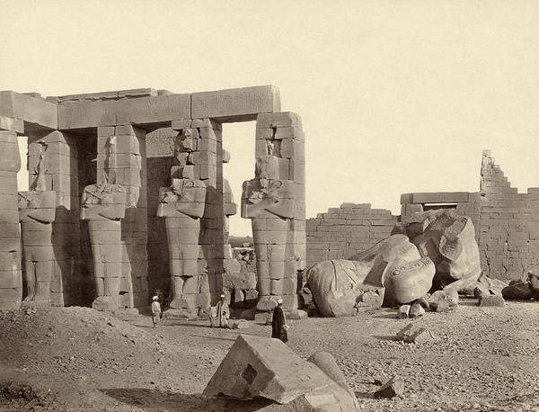 Wall Art - Photograph - Egypt Thebes, 1857 by Granger