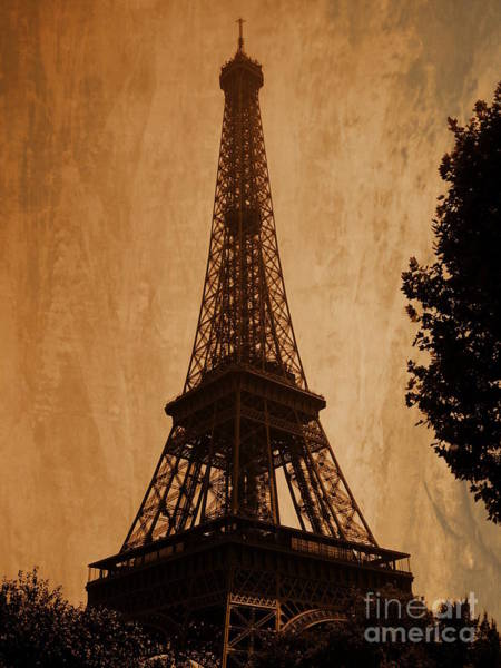 Photograph - Eiffel Tower by Andrea Anderegg