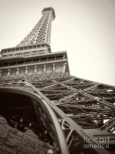 Photograph - Eiffel Tower by Edward Fielding